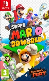 Super Mario 3D World + Bowser's Fury's