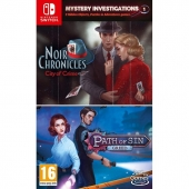 Mystery Investigations 1: Noir Chronicles: City of Crime + Path of Sin: Greed