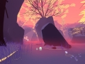 De screenshots van Shape of the World tonen een wonderlijke wereld