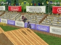 Twaalf screens van Excitebike: World Rally