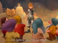 Bekende sprookjes figuren op Kingdom Hearts screenshots