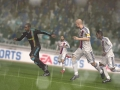 Olympic Lyon vs. Olympic Marseille op screens FIFA 11