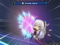 Lastation heeft de overmacht in screenshots Hyperdevotion Noire: Goddess Black Heart
